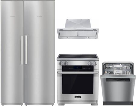 Miele MasterCool 1414425 Kitchen Appliance Package Stainless Steel, Main image