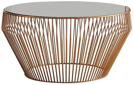 Acme Furniture Camry 81435 Coffee and Cocktail Table Gold, 1