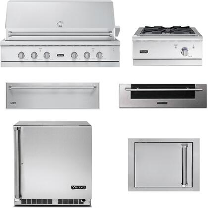Viking 5 Series 889594 Outdoor Kitchen Equipment Packages Stainless Steel, Main Image