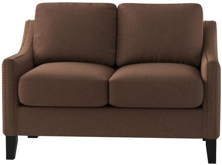Acme Furniture Zapata Jr. 53766 Loveseat Brown, 1