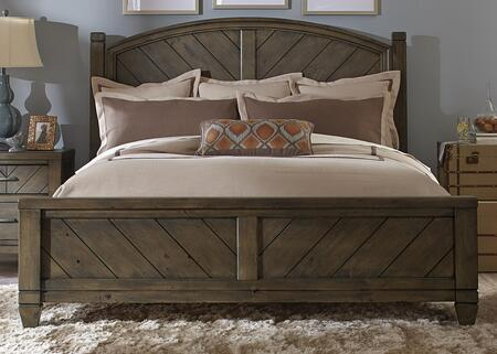 Liberty Furniture Modern Country 4 Piece King Size Bedroom Set