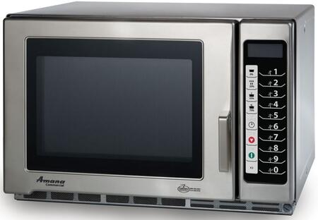 Amana RFS18TS Commercial Microwave Stainless Steel, Main Image