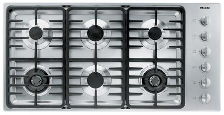 Miele  KM3485G Gas Cooktop Stainless Steel, Main Image