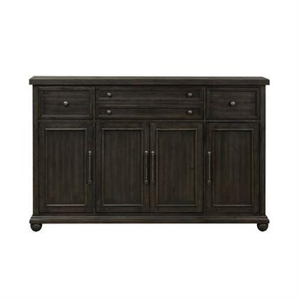 Liberty Furniture Harvest Home 879HB7246 Dining Room Buffet Black, Main Image