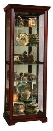 Pulaski PFC Curios 2071 Curio Cabinet Brown, 1