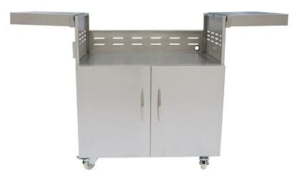 Coyote C1C34CT Grill Cart Stainless Steel, Cart for 34 Inch Grill