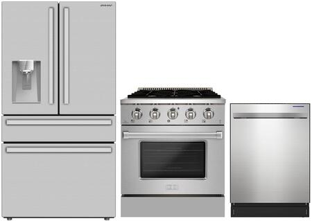 SHARP  1472839 Kitchen Appliance Package Stainless Steel, Main Image