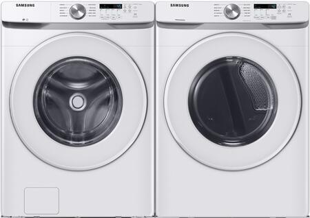 Samsung  1271572 Washer & Dryer Set White, 1