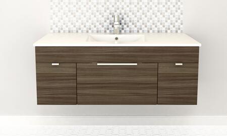 Cutler Kitchen and Bath Textures FVDW48 Sink Vanity Brown, Main Image