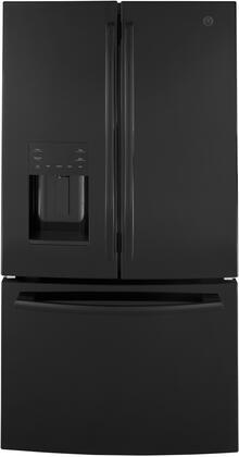 GE GFE26JGMBB French Door Refrigerator Black, GFE26JGMBB French Door Refrigerator