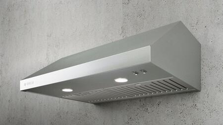 ESR436S1 36″ Comfort Series Sora Wall Mount Range Hood with 400 CFM  3 Speed  LED Lighting  Stainless Steel Baffle Filters  in Stainless