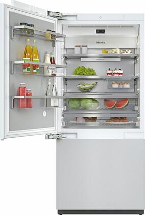 Miele MasterCool KF2912VI Bottom Freezer Refrigerator Panel Ready, KF2912VI MasterCool Bottom Freezer Refrigerator