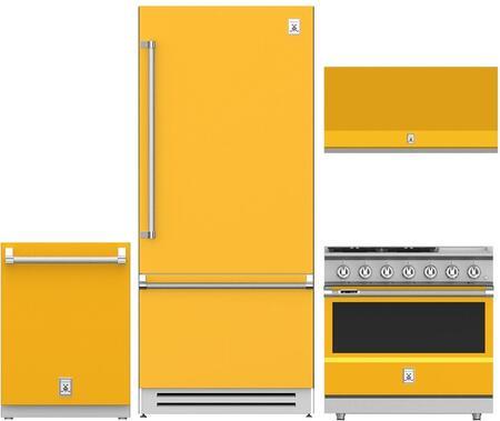 Hestan  963959 Kitchen Appliance Package Yellow, 1