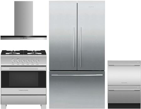 Fisher Paykel 1125145 Kitchen Appliance Package & Bundle Stainless Steel, main image
