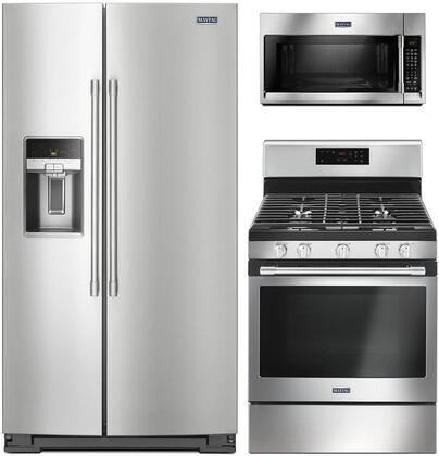 Maytag  1048622 Kitchen Appliance Package Stainless Steel, Main Image