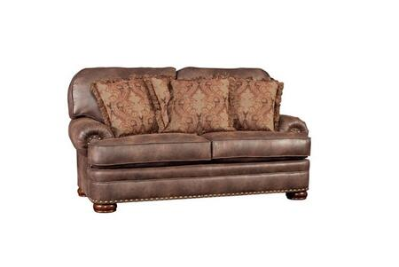 Chelsea Home Furniture Sunderland 393620F30LVE Loveseat Brown, 393620F30LVE Front