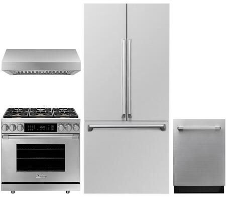 Dacor  1285909 Kitchen Appliance Package Stainless Steel, Main image