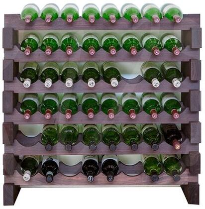 Vinotemp EP4472VIN48S Wine Rack Stained, Main View