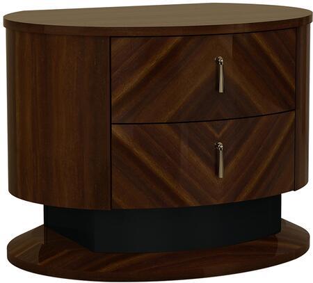 American Eagle Furniture P109 NSP109 Nightstand Brown, Main Image