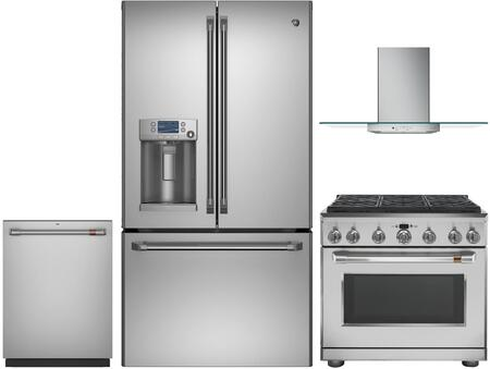 Cafe 1053335 Kitchen Appliance Package & Bundle Stainless Steel, main image