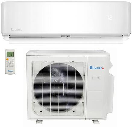 Klimaire KSIR KM14B1041 Single-Zone Mini Split Air Conditioner White, KM14B1041 Mini Split Air Conditioner