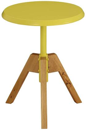 Acme Furniture Lumina 80337 End Table Yellow, 1