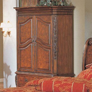 Myco Furniture Rockport RC8004TV Armoir, 1