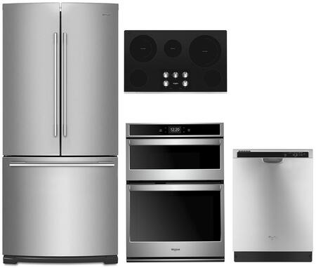 Whirlpool 1054254 Kitchen Appliance Package & Bundle Stainless Steel, main image