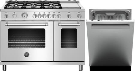 Bertazzoni  1000118 Kitchen Appliance Package Stainless Steel, Main image