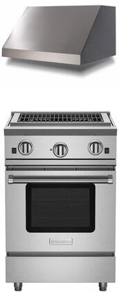 BlueStar RNB Series 851069 Kitchen Appliance Package Stainless Steel, Main image