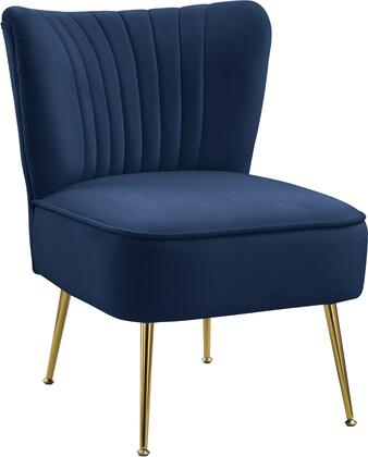 Meridian Tess 504NAVY Accent Chair Blue, 504Navy 1