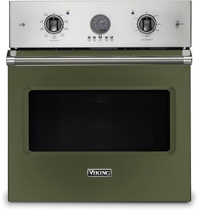 Viking 5 Series VSOE527CY Single Wall Oven Green, VSOE527CY Electric Single Wall Oven