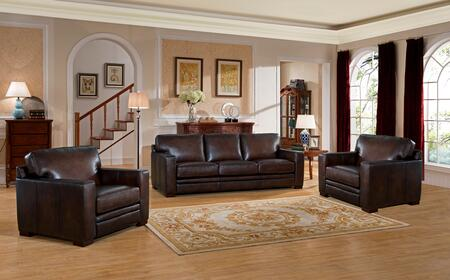 Hydeline Chatsworth CHATSWORTHSCC Living Room Set Brown, 1