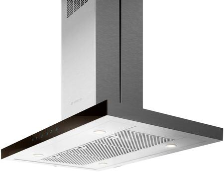 EMG636S1 36″ MAGGIORE Techne Series Island Hood with 600 CFM  CFM Reduction System  Hush System  Dimmer Light  Touch Controls  LED Lighting  in