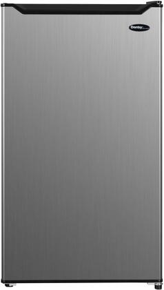 """DCR033B1SLM 19"""" Diplomat Series Compact Refrigerator with 3.3 cu. ft. Capacity Full Width Chiller Compartment Adjustable Glass Shelves and Crisper"""