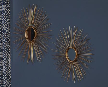 Signature Design by Ashley Doniel A8010054 Mirror Gold, Main Image