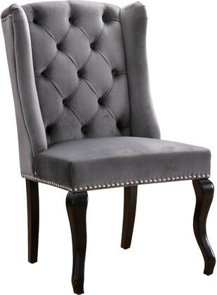 Meridian Suri 772GreyC Dining Room Chair Gray, main image