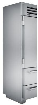 Sub-Zero  9013058 Refrigerator Part Stainless Steel, side panel