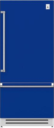 Hestan  KRBR36BU Bottom Freezer Refrigerator Blue, Main Image