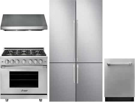 Dacor  1056856 Kitchen Appliance Package Stainless Steel, main image