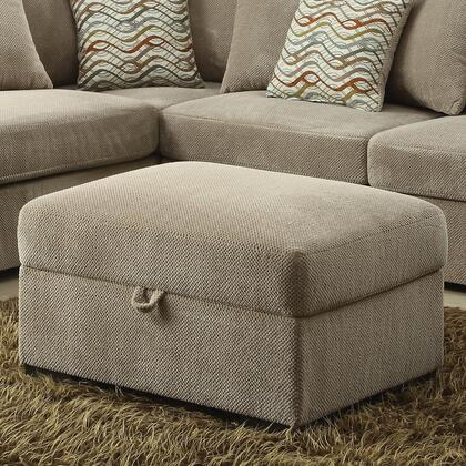 Benzara  BM182650 Living Room Ottoman Brown, BM182650