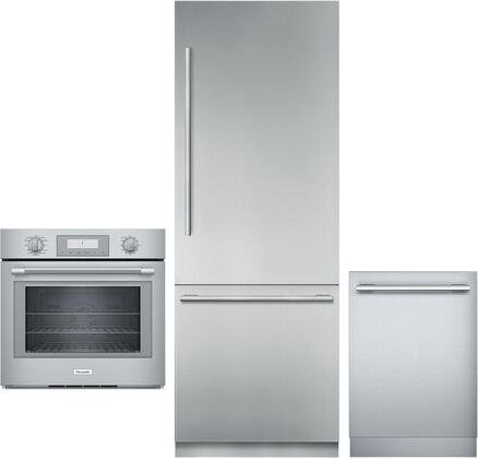 Thermador  1311287 Kitchen Appliance Package Stainless Steel, Main image