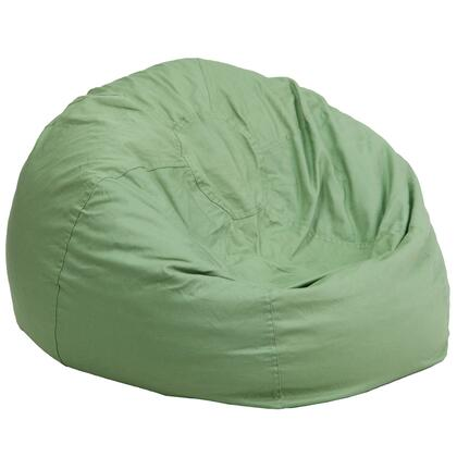 Flash Furniture DGBEAN DGBEANLARGESOLIDGRNGG Bean Bag Chair Green, DGBEANLARGESOLIDGRNGG
