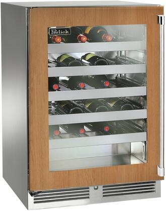 Perlick Signature HP24WS44L Wine Cooler 26-50 Bottles Panel Ready, Main Image