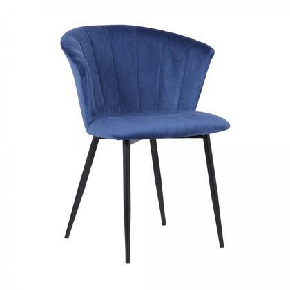 Armen Living Lulu LCLUCHBL Dining Room Chair, 1