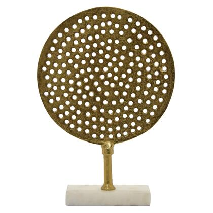 Plutus Brands  PBTH94189 Decorative Furniture Gold, PBTH94189