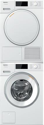 Miele  1447669 Washer & Dryer Set White, 1