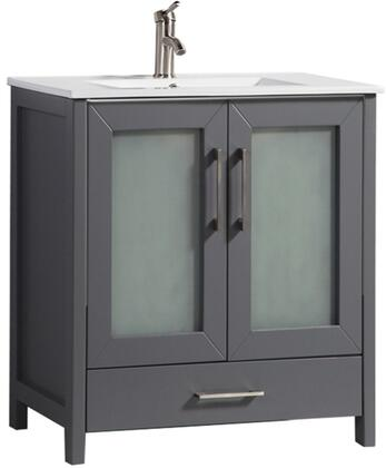 Argentina Collection MTD-1036G 36″ Single Sink Bathroom Vanity Set in