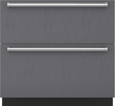 Sub-Zero  ID36CI Drawer Refrigerator Panel Ready, Main Image