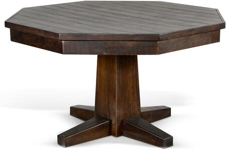 1033TL2 Tobacco Leaf Game & Dining Table   in Tobacco